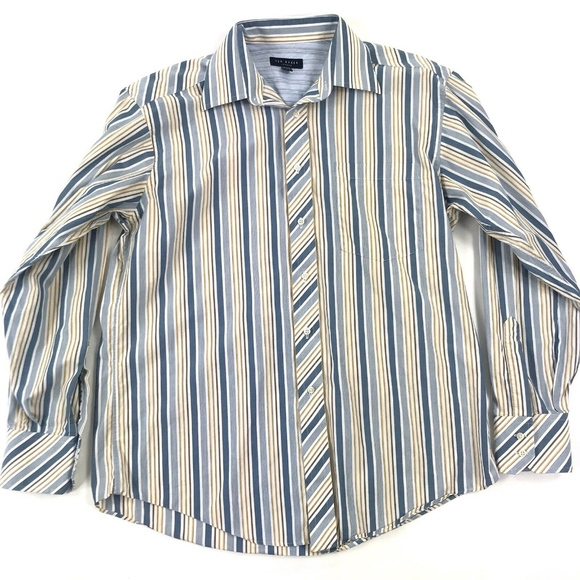 Ted Baker London Other - Ted Baker Long Sleeve Button Down Shirt 16 34/35